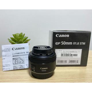 Canon - 【美品】Canon EF 50mm F1.8 STM レンズ