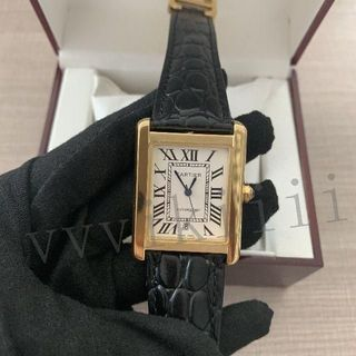 SEIKO - 本日限定付属品完備 カルティエ レーディス自動巻腕時計