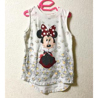 Disney - 海外購入 ミニーマウス タンクトップ 子供服 120cm ディズニーストア