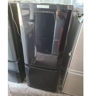 三菱 - 三菱 146L 2ドア冷蔵庫  💍2017年製💍 ブラック