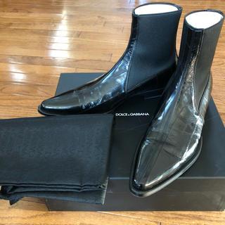 ドルチェアンドガッバーナ(DOLCE&GABBANA)の【新品未使用】DOLCE&GABBANA メンズブーツ 26cm 2006年製(ブーツ)