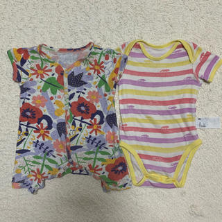 ユニクロ(UNIQLO)の子供服(ロンパース)