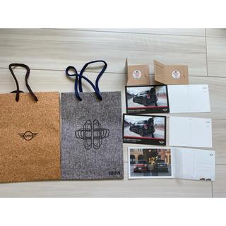 BMW - MINI BMW紙袋、ポストカード、ステッカーまとめ売り