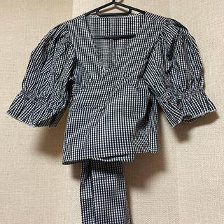 スタイルナンダ(STYLENANDA)のSTYLENANDA ラップトップス チェックシャツ(シャツ/ブラウス(長袖/七分))