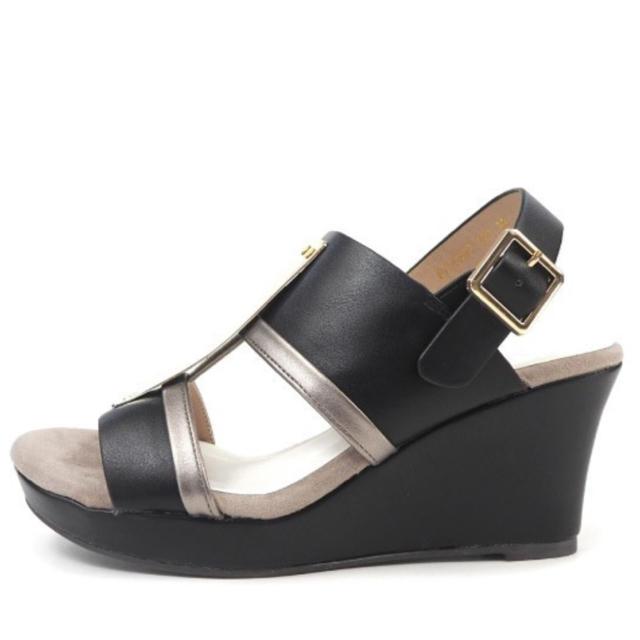 あしながおじさん(アシナガオジサン)の新品✨あしながおじさん サンダル BLACK、ホワイト 大特価 レディースの靴/シューズ(サンダル)の商品写真
