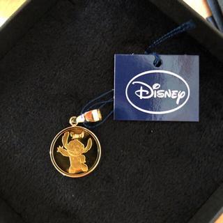 Disney - 正規品 ディズニーコインネックレス 純金K24 リロ&スティッチ1/25oz