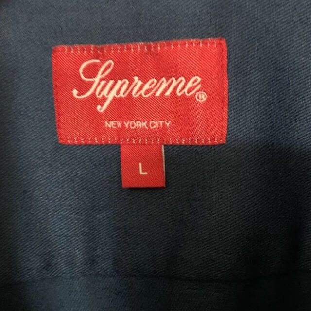 Supreme(シュプリーム)のsupreme tom&jerry work shirt  ネイビー L  メンズのトップス(シャツ)の商品写真