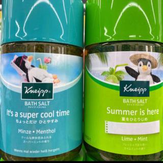 クナイプ(Kneipp)の2種‼️夏期限定・Kneip クナイプ・バスソルト ライム & スーパーミント(入浴剤/バスソルト)