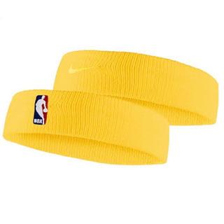 NIKE - Nike NBA ヘッドバンド イエロー