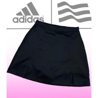 adidas - 美品♡アディダスゴルフ  パンツ一体型  ゴルフスカート  黒  ゴルフウェア