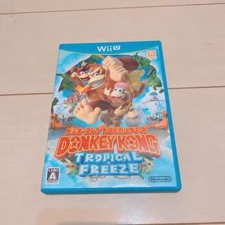 ウィーユー(Wii U)のドンキーコング トロピカルフリーズ  Wii U 任天堂 ソフト カセット(家庭用ゲームソフト)