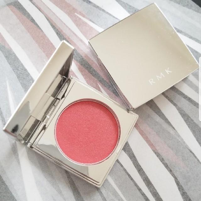 RMK(アールエムケー)の✤RMK✤新品カラーユアルックブラッシュ#02ピンキッシュオレンジ コスメ/美容のベースメイク/化粧品(チーク)の商品写真