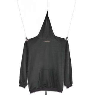 ピースマイナスワン(PEACEMINUSONE)のPeaceminusone pmo hoodie pigment grey  (パーカー)