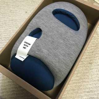 【未使用新品】オーストリッチピローミニ ブルー/青 定価7,560円(枕)