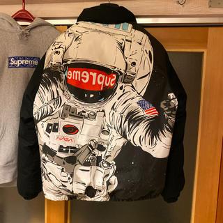 シュプリーム(Supreme)の16A/W Supreme astronaut puffy jacket 黒S(ダウンジャケット)