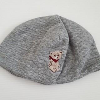 ベビーギャップ(babyGAP)の46センチ GAP ニット 帽子(帽子)