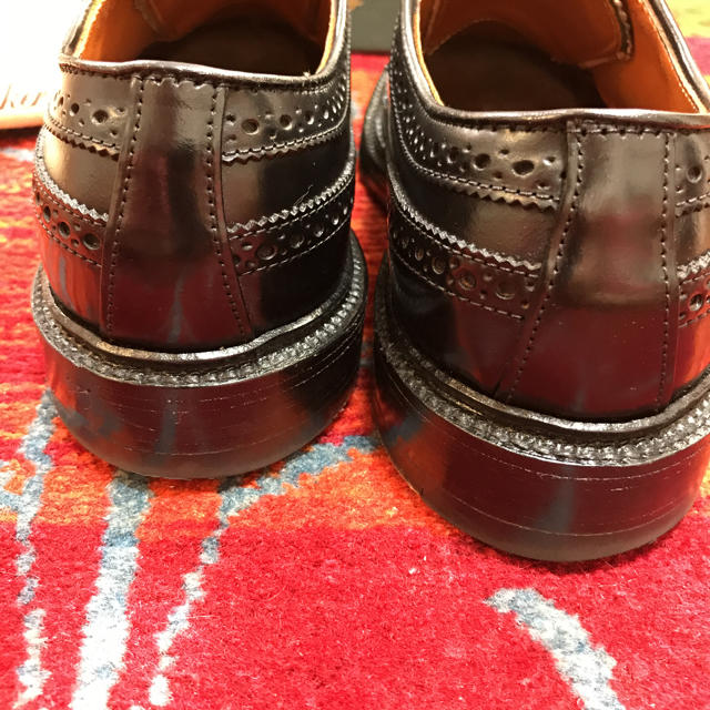Alden(オールデン)の本日最終‼️極美品 着用3回のみ Alden  オールデン9751 6.5D メンズの靴/シューズ(ドレス/ビジネス)の商品写真
