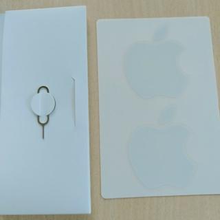 アイフォーン(iPhone)のiPhone ステッカー とシムピン(その他)