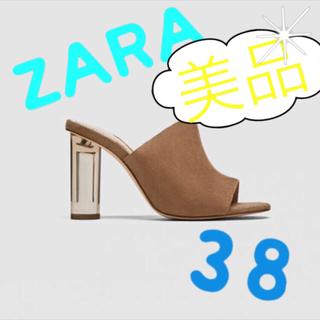 ZARA - ZARA クリアヒール 38 美品