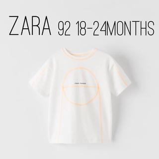 ZARA KIDS - ZARA ザラ キッズ ベビー バスケットボール柄Tシャツ 92 size