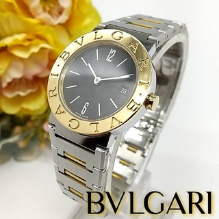 BVLGARI - 極美品 BB26SG ブルガリ 750YG(K18) レディース 腕時計