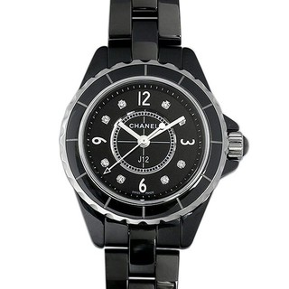 J12 黒セラミック 8Pダイヤ  新品 レディース 腕時計 特価割引