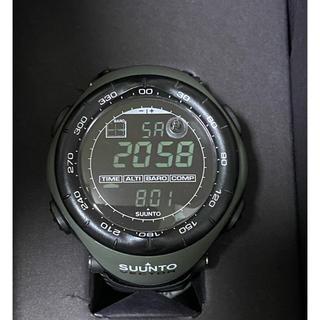 スント(SUUNTO)のSUUNTO スント ベクター ミリタリー グリーン(腕時計(デジタル))