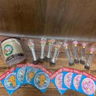 サトちゃん キャニスター缶・フォーク・スプーン・コースター