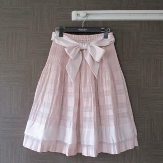 トゥービーシック(TO BE CHIC)のTO BE CHIC トゥービーシック ピンク スカート 40 三陽商会(ひざ丈スカート)