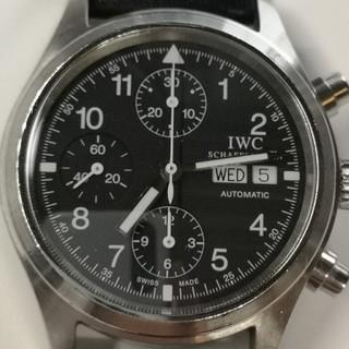 IWC - 質流れ品WVW!IWC メカニカルフリーガークロノグラフ腕時計 メンズ自動巻き