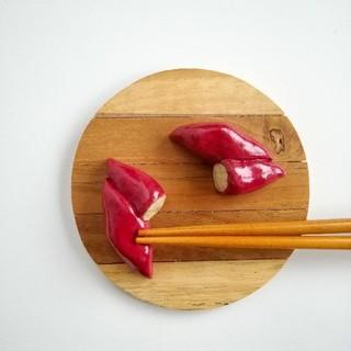 焼き芋 箸置きセット(テーブル用品)