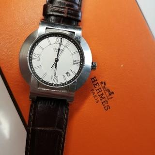 エルメス(Hermes)の質流れ品XF!HERMES エルメス ノマード コンパスウォッチ メンズ腕時計(腕時計(アナログ))