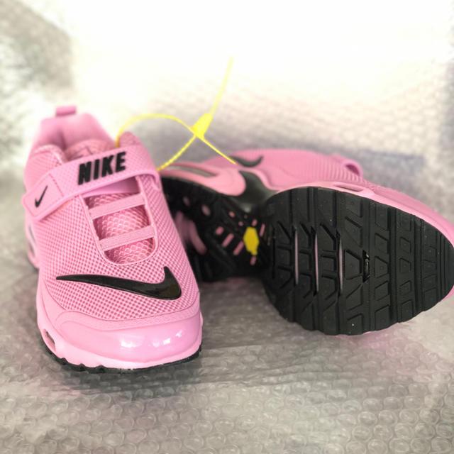 NIKE(ナイキ)の値下げ:Nike children shoes Tn/Pink/22cm キッズ/ベビー/マタニティのキッズ靴/シューズ(15cm~)(スニーカー)の商品写真