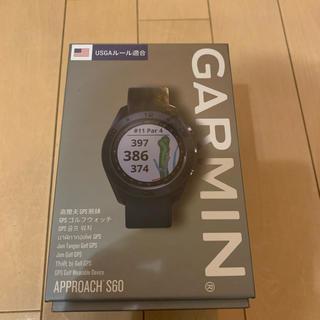 GARMIN - 【新品未使用】ガーミン ゴルフ用ウォッチ アプローチ S60 ブラック