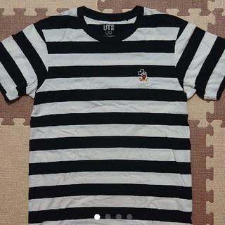 ユニクロ(UNIQLO)のミッキーTシャツ(Tシャツ/カットソー(半袖/袖なし))