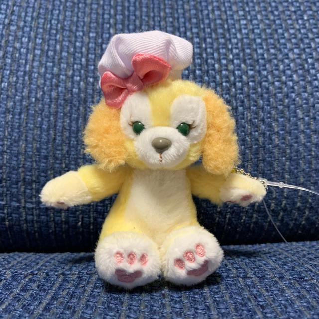 ダッフィー(ダッフィー)のクッキーアン ぬいぐるみストラップ エンタメ/ホビーのおもちゃ/ぬいぐるみ(キャラクターグッズ)の商品写真