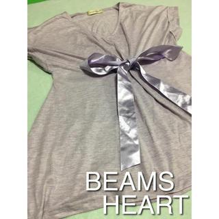 BEAMS - 【BEAMS HEART】ラベンダー色 トップス
