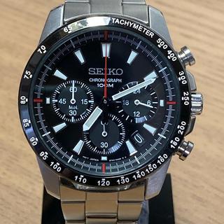 SEIKO - SEIKO メンズ 腕時計 クロノグラフ 海外モデル SSB031PC