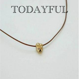 TODAYFUL - TODAYFULトゥデイフルゴールドネックレスチョーカー