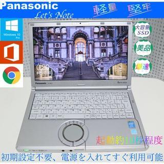 Panasonic - 美品>Let's  cf-nx3  i5/8G/新品SSD480G/Office