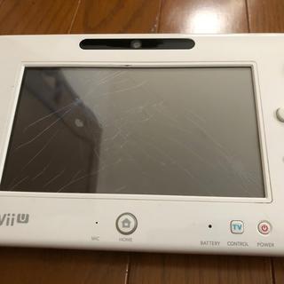 ウィーユー(Wii U)のWiiU ゲームパッド ジャンク品(家庭用ゲーム機本体)
