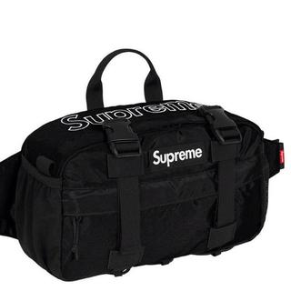 シュプリーム(Supreme)のsupreme waist bag 19aw BLACK 黒(その他)