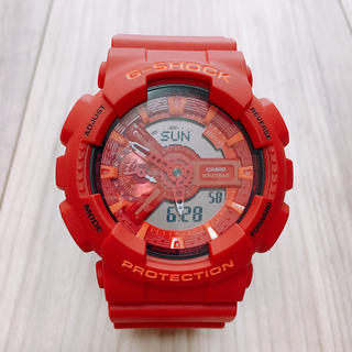 ジーショック(G-SHOCK)のG-SHOCK Gショック ジーショック CASIO 時計 ウオッチ 赤 レッド(腕時計(デジタル))