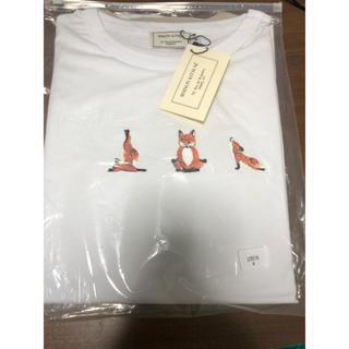 メゾンキツネ(MAISON KITSUNE')の新品 メゾンキツネ Tシャツ シュプリーム パタゴニア ザノースフェイス ナイキ(Tシャツ/カットソー(半袖/袖なし))