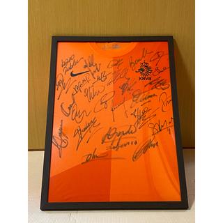 NIKE - 男子サッカーオランダ代表 直筆サイン入りユニフォーム