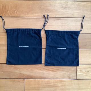 ドルチェアンドガッバーナ(DOLCE&GABBANA)のドルチェ&ガッバーナ 保存袋   2枚(ショップ袋)