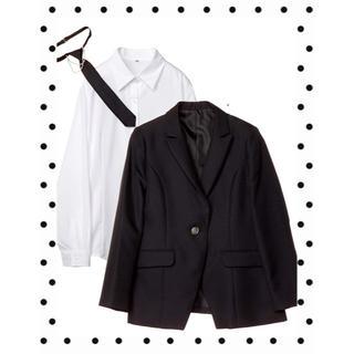 [アリスマジック] 卒業式 スーツ・ブラックフォーマル 3点セット(その他)