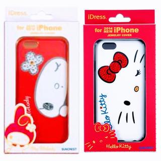 定価2750円 ハローキティ スマホケース IP6-KT06 IP6-MM06(iPhoneケース)