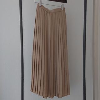 UNIQLO - ユニクロ シフォンプリーツロングスカート XS
