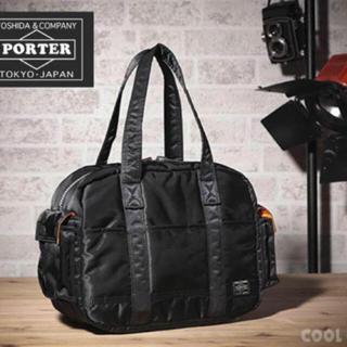 ポーター(PORTER)のPORTER 吉田カバン/タンカーボストンバッグ ブラック Lサイズ 正規店購入(ボストンバッグ)
